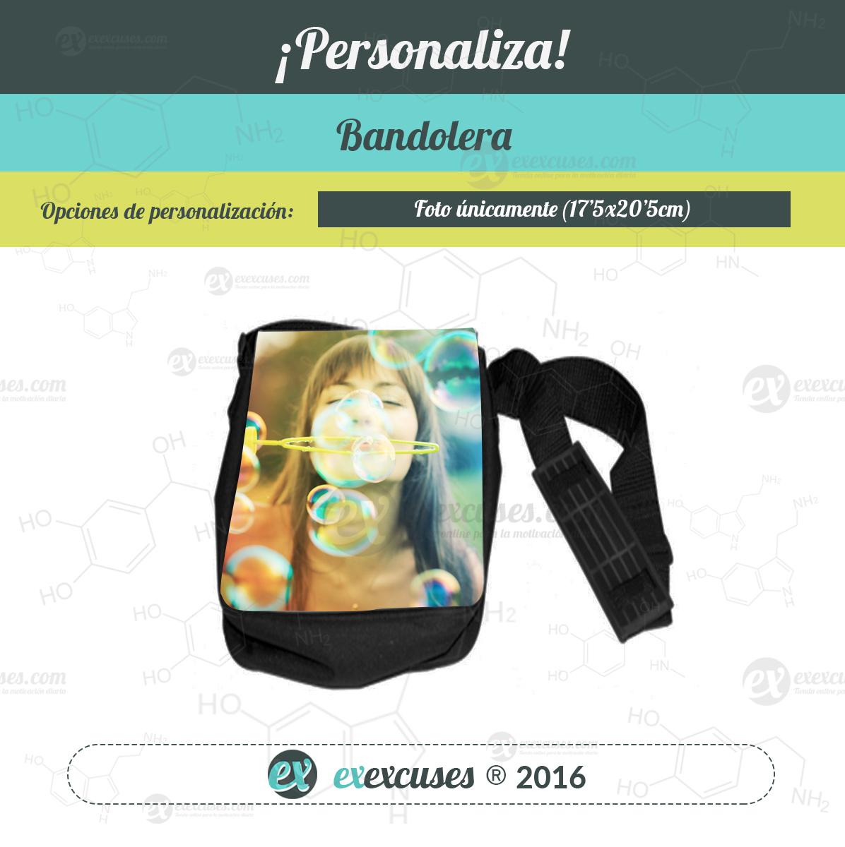 Bandolera personalizable exexcuses®
