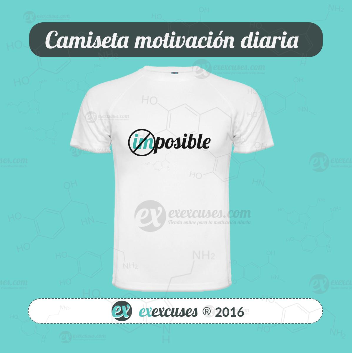 Camiseta imposible exexcuses®